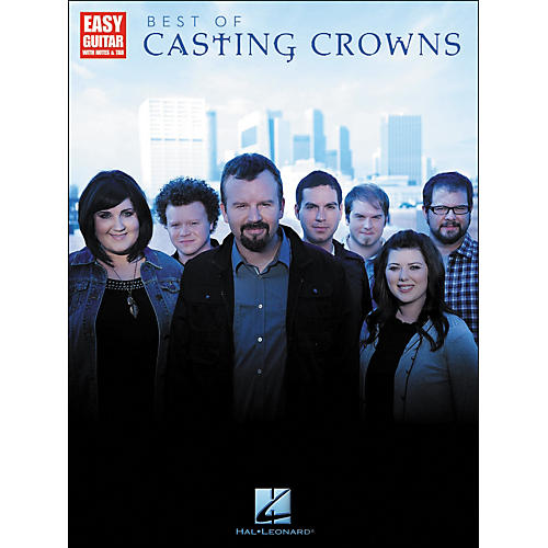 Hal Leonard Best Of Casting Crowns - Easy Guitar with Notes & Tab