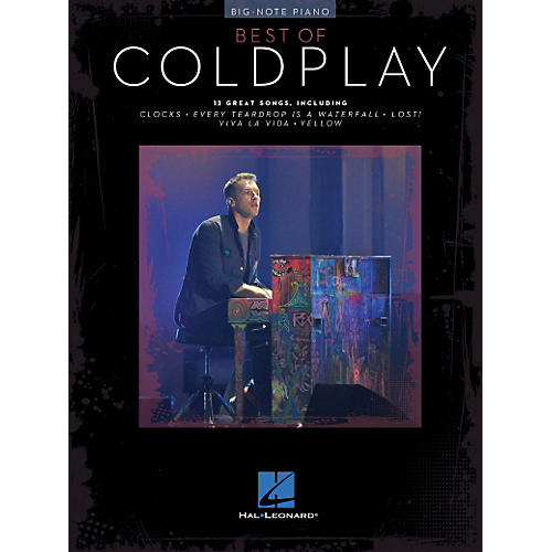Hal Leonard Best Of Coldplay For Big-Note Piano