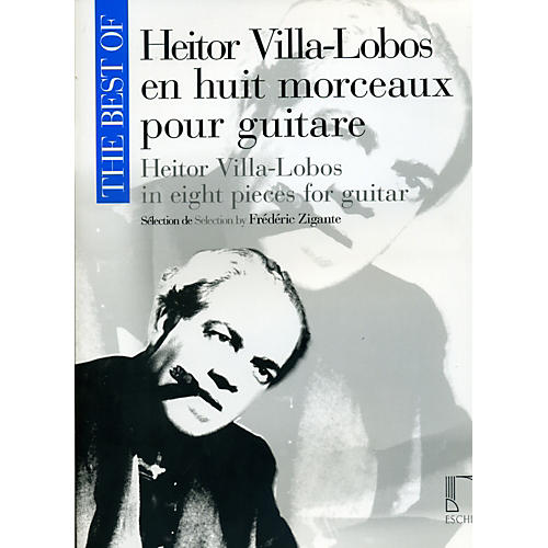 Durand Best Of Heitor Villa-Lobos In Eight Pieces For Guitar-thumbnail