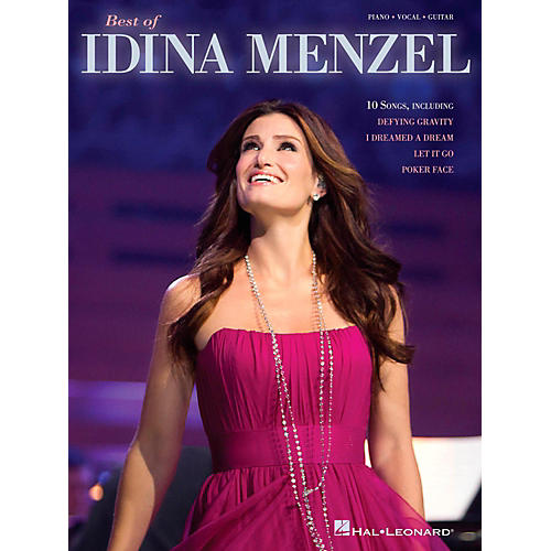 Hal Leonard Best Of Idina Menzel Piano/Vocal/Guitar Songbook