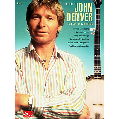 Cherry Lane Best Of John Denver - 20 Easy Banjo Solos-thumbnail