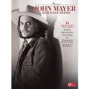 Cherry Lane Best Of John Mayer For Easy Piano