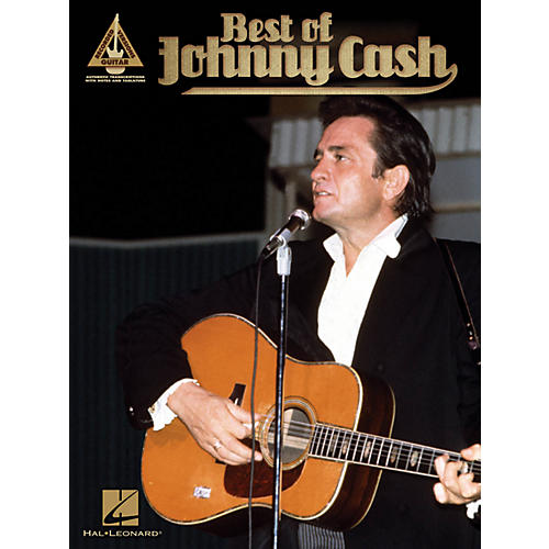 Hal Leonard Best Of Johnny Cash Guitar Tab Songbook-thumbnail