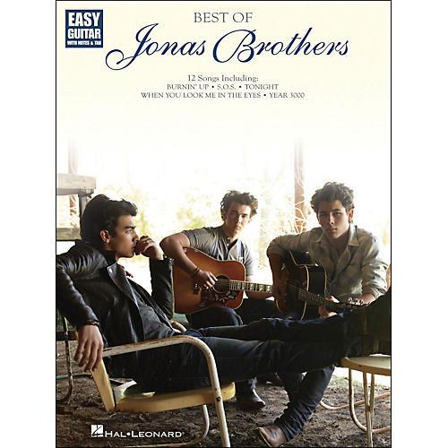 Hal Leonard Best Of Jonas Brothers Easy Guitar with Tab-thumbnail