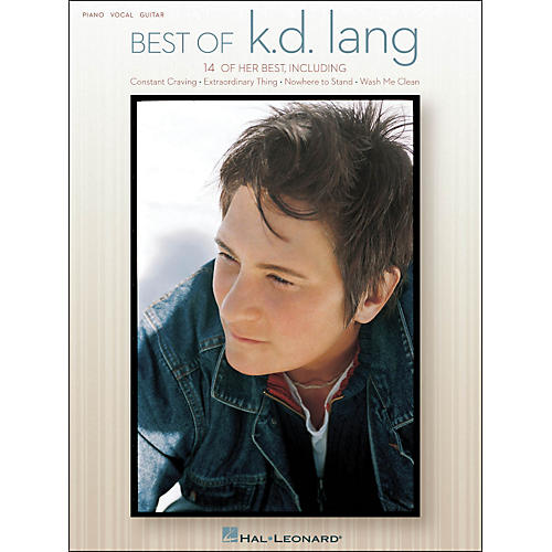 Hal Leonard Best Of KD Lang arranged for piano, vocal, and guitar (P/V/G)-thumbnail
