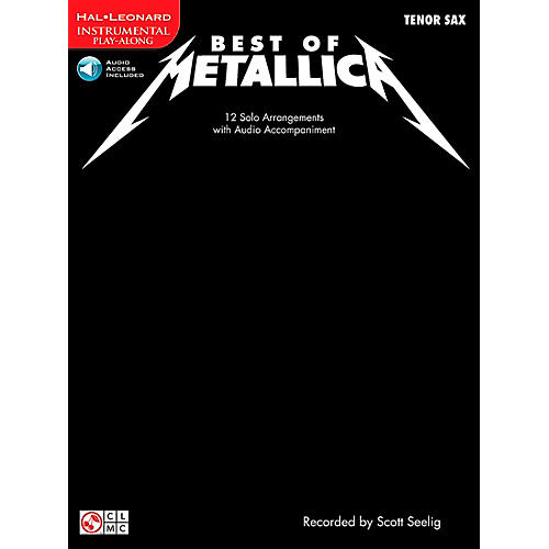 Cherry Lane Best Of Metallica Tenor Sax-thumbnail