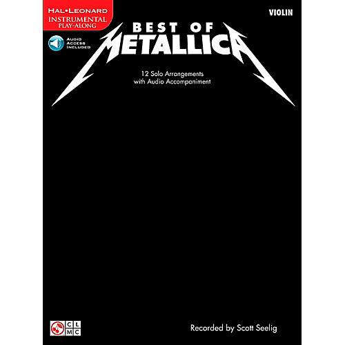 Cherry Lane Best Of Metallica Violin
