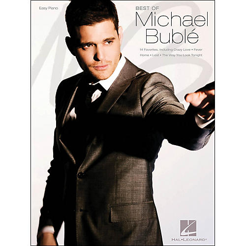 Hal Leonard Best Of Michael Buble Easy Piano-thumbnail