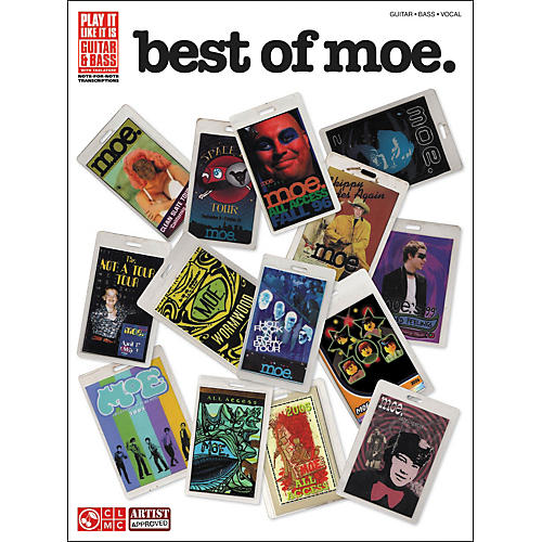 Cherry Lane Best Of Moe Tab Book-thumbnail