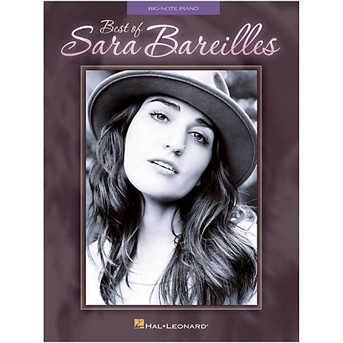 Hal Leonard Best Of Sara Bareilles for Big Note Piano-thumbnail