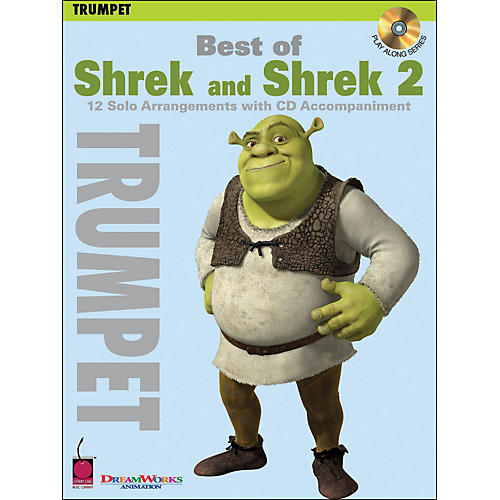 Cherry Lane Best Of Shrek And Shrek 2 for Trumpet Book/CD-thumbnail