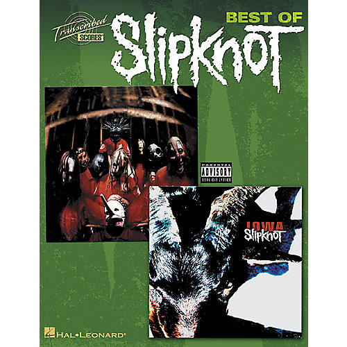 Hal Leonard Best Of Slipknot Guitar Tab Songbook