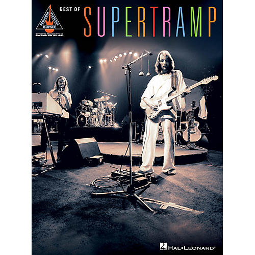 Hal Leonard Best Of Supertramp Guitar Tab Songbook