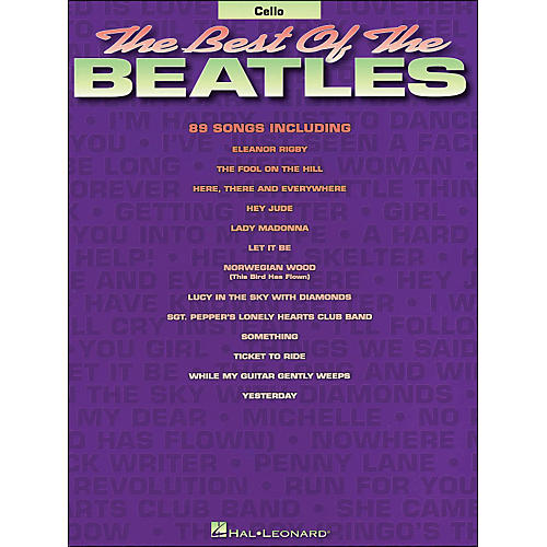 Hal Leonard Best Of The Beatles Cello