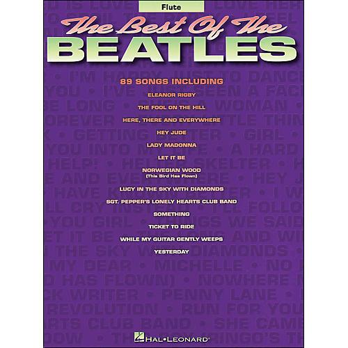 Hal Leonard Best Of The Beatles for Flute