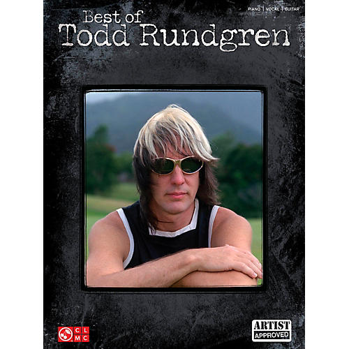 Cherry Lane Best Of Todd Rundgren for Piano/Vocal/Guitar PVG