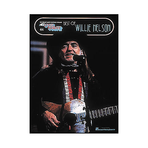 Hal Leonard Best Of Willie Nelson E-Z Play 44