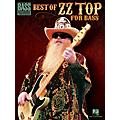 Hal Leonard Best Of ZZ Top For Bass-thumbnail