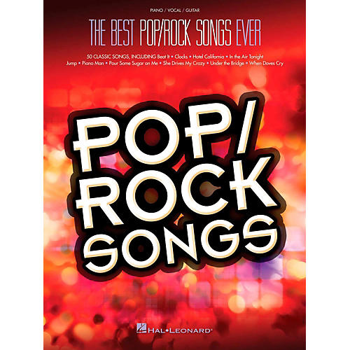 Hal Leonard Best Pop/Rock Songs Ever Piano/Vocal/Guitar Songbook-thumbnail