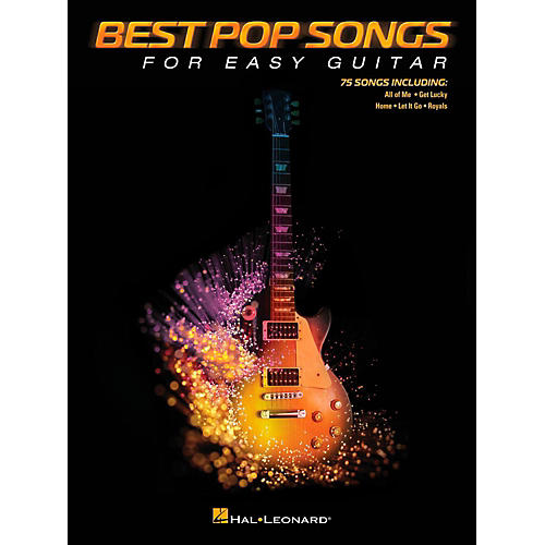 Hal Leonard Best Pop Songs For Easy Guitar (No Tab)-thumbnail