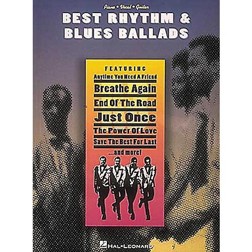Hal Leonard Best Rhythm & Blues Ballads Piano, Vocal, Guitar Songbook-thumbnail