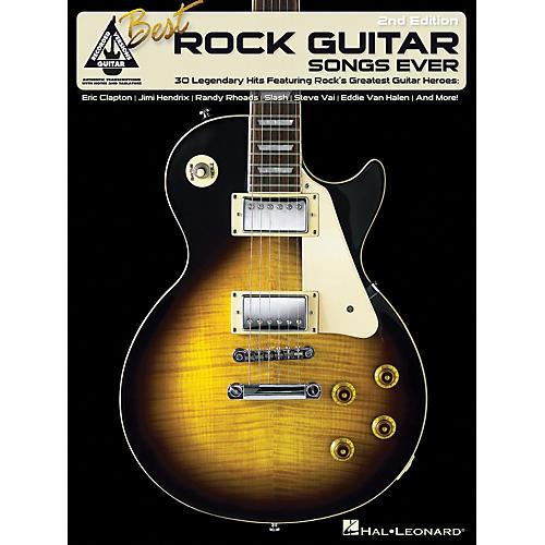 Hal Leonard Best Rock Guitar Songs Ever Tab Songbook