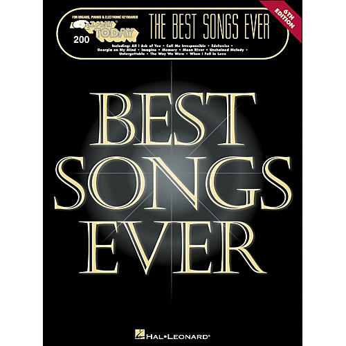 Hal Leonard Best Songs Ever 6Th Edition E-Z Play 200-thumbnail