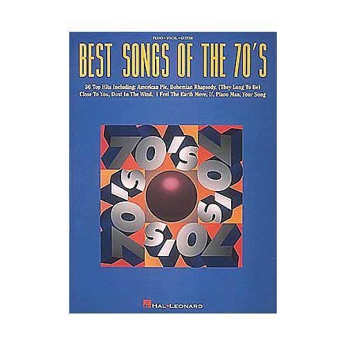 Hal Leonard Best Songs Of The 70's Songbook