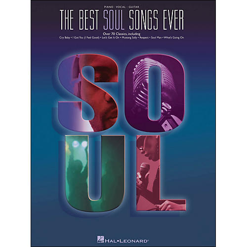 Hal Leonard Best Soul Songs Ever arranged for piano, vocal, and guitar (P/V/G)-thumbnail