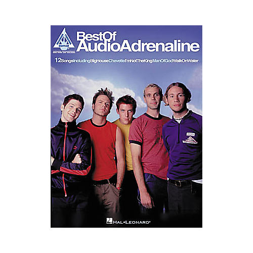 Hal Leonard Best of Audio Adrenaline Book