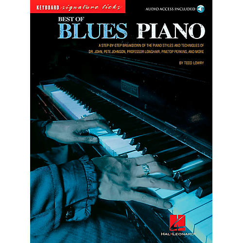 Hal Leonard Best of Blues Piano Signature Licks Songbook with CD-thumbnail
