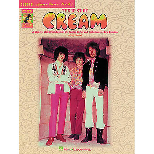 Hal Leonard Best of Cream Guitar Tab Songbook with CD & Lessons-thumbnail
