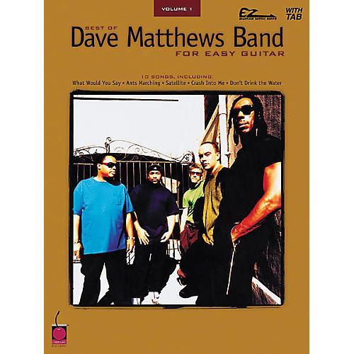 Cherry Lane Best of Dave Matthews Band for Easy Guitar Volume 1-thumbnail