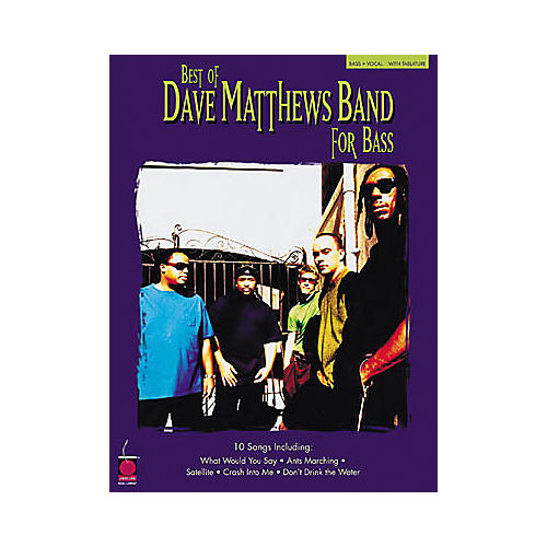 Hal Leonard Best of Dave Matthews for Bass Book