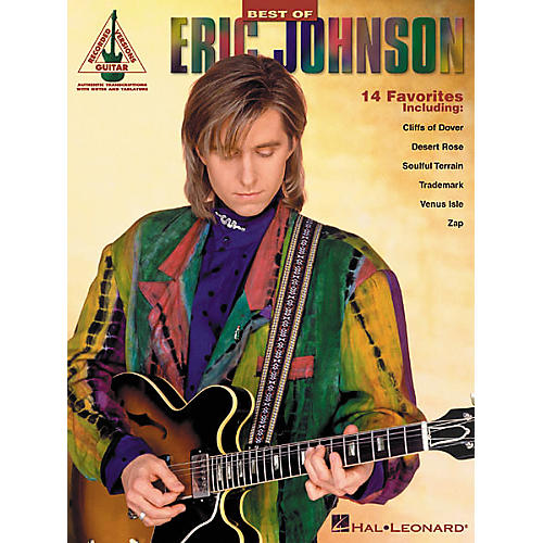 Hal Leonard Best of Eric Johnson Guitar Tab Songbook