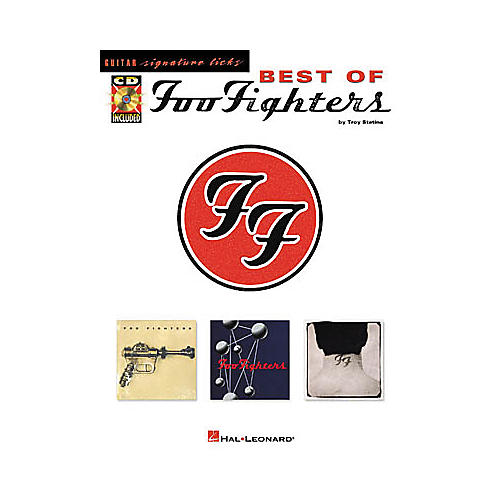 Hal Leonard Best of Foo Fighters Signature Licks Book with CD