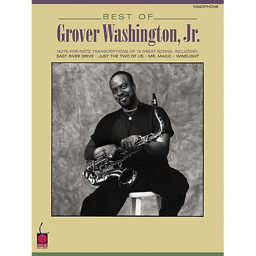 Hal Leonard Best of Grover Washington, Jr. (Saxophone)-thumbnail