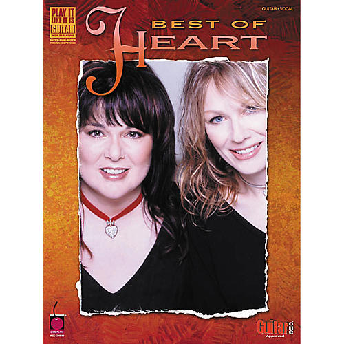 Cherry Lane Best of Heart Guitar Tab Songbook-thumbnail