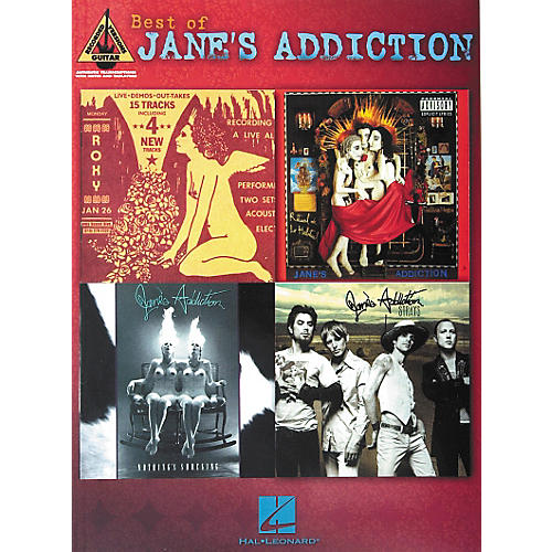 Hal Leonard Best of Jane's Addiction Guitar Tab Songbook-thumbnail