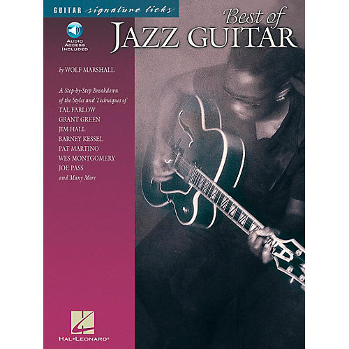 Hal Leonard Best of Jazz Guitar Signature Licks Book with CD-thumbnail