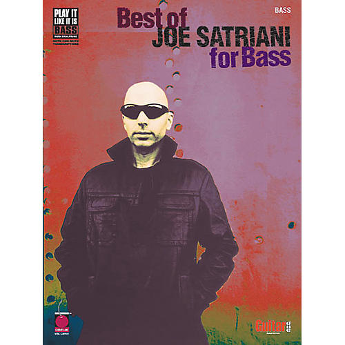Cherry Lane Best of Joe Satriani for Bass Guitar Tab Songbook-thumbnail