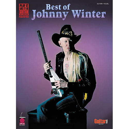 Cherry Lane Best of Johnny Winter Guitar Tab Songbook-thumbnail
