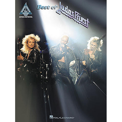 Hal Leonard Best of Judas Priest Guitar Tab Songbook-thumbnail