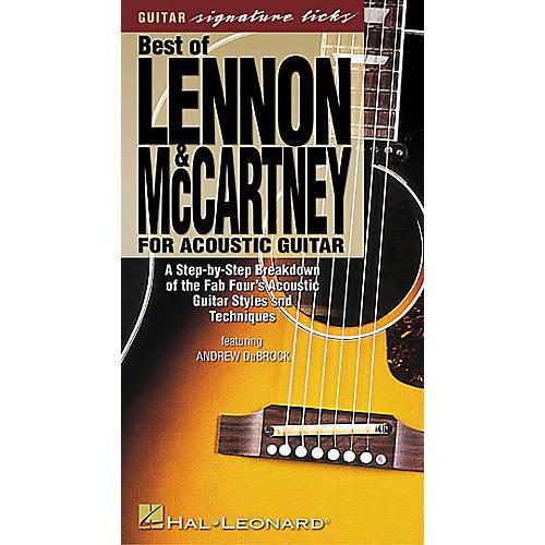 Hal Leonard Best of Lennon and McCartney for Acoustic Guitar (VHS)-thumbnail