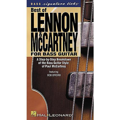 Hal Leonard Best of Lennon and McCartney for Bass Guitar (VHS)