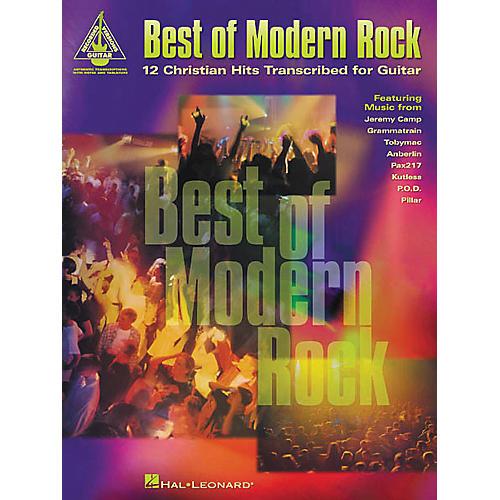 Hal Leonard Best of Modern Rock12 Christian Hits Guitar Tab Book