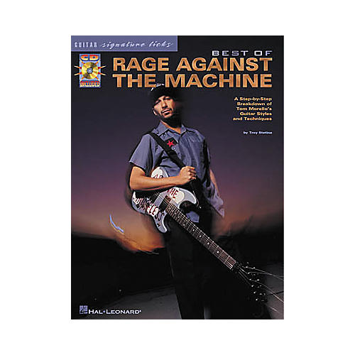 Hal Leonard Best of Rage Against The Machine Signature Licks Book with CD-thumbnail
