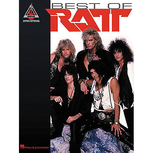 Hal Leonard Best of Ratt Guitar Tab Songbook