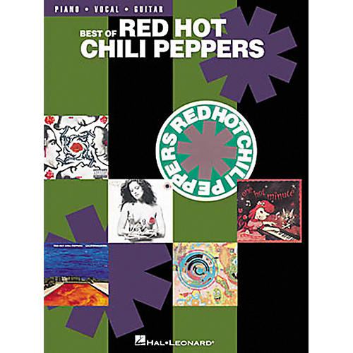 Hal Leonard Best of Red Hot Chili Peppers Piano, Vocal, Guitar Songbook-thumbnail