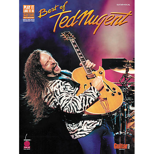 Cherry Lane Best of Ted Nugent Guitar Tab Songbook